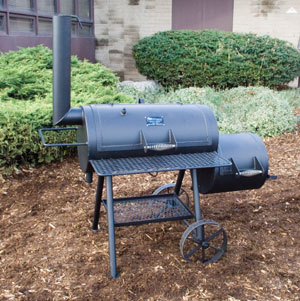 "The 20"" Horizon Classic Smoker ""Guaranteed for a Lifetime Against Burnout"""